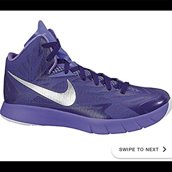 best service 620ab 66f83 Men s Nike Purple lunar hyperdunk basketball shoes.  M 5b1b22a22e1478afa707ef13
